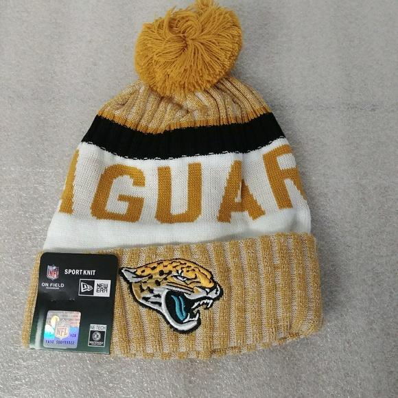 Jaguars beanie knit winter hat 3382da26068
